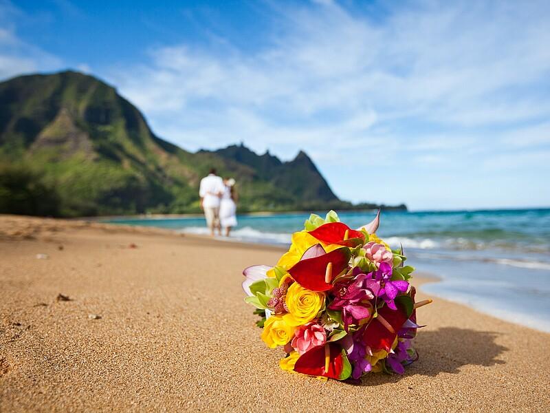 Intime Hochzeit Am Strand In Kalifornien Idyllisch Romantisch